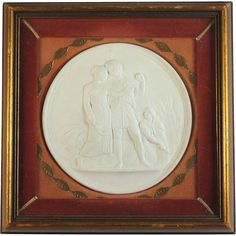 Large Grand Tour Classical Intaglio in Period Shadow Box