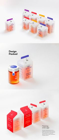 packaging - branding / Zee on Behance