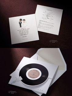 lee ju no - park mi ri creative wedding invitations