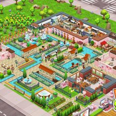 Food Street Game, Restaurant Design, Game Design, Most Beautiful, Games, Gaming, Plays, Game, Toys