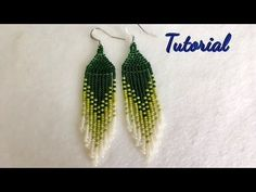 How to make Native American Style Earrings(TUTORIAL). … Native American jewelr… How to make Native American Style Earrings (TUTORIAL). … Native American jewelry Here's the more detailed video … Native American Earrings, Native American Beading, Native American Fashion, Beaded Earrings Patterns, Diy Earrings, Beading Patterns, Heart Earrings, Hoop Earrings, Fringe Earrings