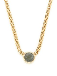 """Bulgari 3rd Century B.C. Ancient Coin Station Necklace."""