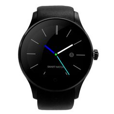 Round Bluetooth Smartwatch K88S Smart Watches Heart Rate Monitor Clock Phone for Apple Android Support Remote Camera SIRI SIM
