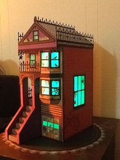 Lakeside row house by SVGCUTS.com I had a ghoulish time putting this together.