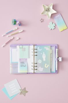Count Your Lucky Stars | Holographic | Planner | Lilac | kikki.K