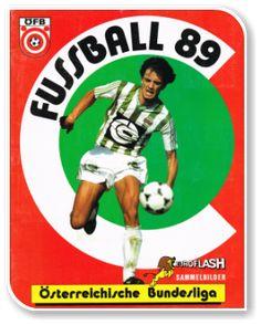 Fussball Osterreichische Bundesliga 1988-1989 Austria, Album, Baseball Cards, Sports, Magick, Trading Cards, Football Soccer, Hs Sports, Sport