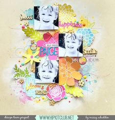 Little Nugget Creations: Hello Sunshine Paige / Hip Kit Club