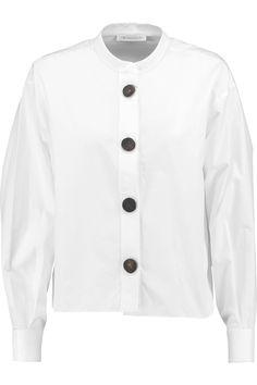 J.W.ANDERSON Cotton-Poplin Shirt. #j.w.anderson #cloth #shirt