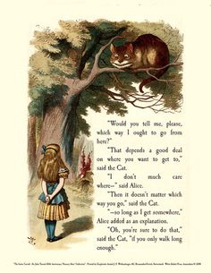 The Wisdom of Lewis Carroll. Through the Looking Glass (Alice in Wonderland in reprint)