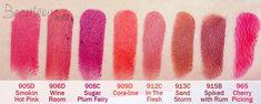 wet n wild lipstick swatches on dark skin - Google Search