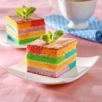CHEESE RAINBOW CAKE http://www.sajiansedap.com/mobile/detail/17067/cheese-rainbow-cake