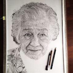 Grandma #wip by zephyrxavier.deviantart.com on @DeviantArt