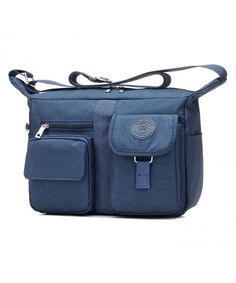 737add5cf382 Women s Shoulder Bags Casual Handbag Travel Bag Messenger Cross Body Nylon  Bags - Navy - CL12N4VDO2E
