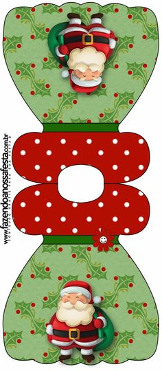 Snowman and Santa: Free Printable Invitations, Cards and Photo Frames.
