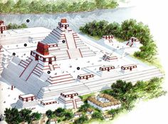 Maya and Aztec » Maya » Six Centuries of Mayan Achievement: 300 AD to 900 AD