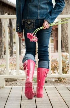 Cute Rain Outfits | ... when it s raining outside but rain boots can be worn for more than