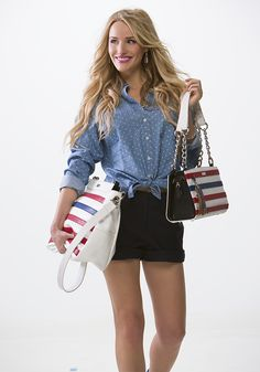 Support the Miche Hope cause with the purchase of one of our Hope products! A portion of the proceeds from the purchase of our Stars  Stripes collection will go toward the Wounded Warriors Project.  Http://valerieh.miche.com