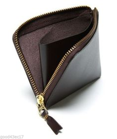 COMME des GARCONS POCKET CLASSIC PLAIN SA3100 brown wallet #eBayCollection #FollowItFindIt