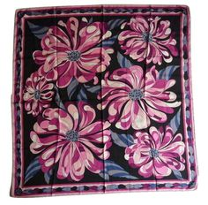 Currently at the #Catawiki auctions: Emilio Pucci - Floral scarf - Vintage 1970