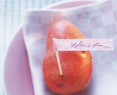 Kartoffel: Namensschildchen - Schnelle Tischdeko mit Gemüse 10 - [LIVING AT HOME]