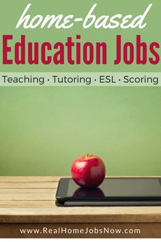 This list of home-based jobs in the education field provides teaching, tutoring, ESL, and test scoring opportunities.  You can also find online education positions in administration, curriculum, admissions, and other staff! via @realhomejobsnow