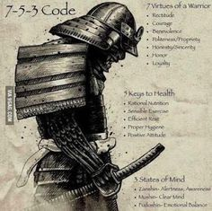 7-5-3 Japanese warrior code