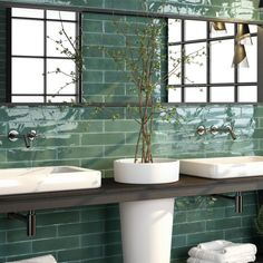 Product Code: buy now Continental Tiles Opal Emerald Wall & Floor Tiles - from Tiledealer to get the very best prices in the UK! Small Kitchen Tiles, Small Tiles, Kitchen Wall Tiles, Wall And Floor Tiles, Sea Green Bathrooms, Tiles Uk, Loft Bathroom, Small Bathroom, Half Walls