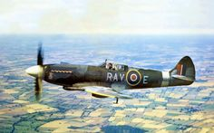 Spitfire F21 LA195 delivered to RAF 33 MU 15/01/1946, here in 615 Sqn service 25/4/1947 to 19/8/1948