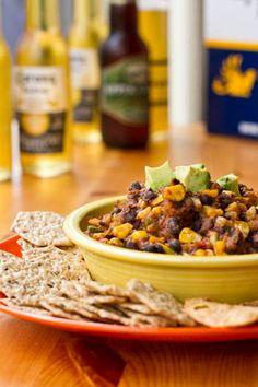 Black Bean Chili Dip -  A hit at any party!
