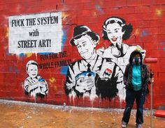 Paint the town: the best women graffiti artists – in pictures