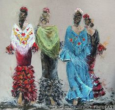 Mexican Quinceanera Dresses, Dress Illustration, Fitness Gifts, Free Day, Decoupage Paper, Ribbon Embroidery, Art Studios, Female Art, Backdrops