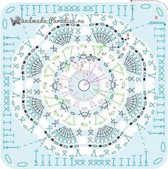 Crochet Afghan Flower Hexagon Pattern 24 Ideas For 2019 Tunisian Crochet Patterns, Crochet Motifs, Granny Square Crochet Pattern, Crochet Diagram, Crochet Chart, Crochet Squares, Hexagon Crochet, Hexagon Pattern, Mandala Au Crochet