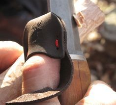 Carving is hard on the digits, and not many of us have the calluses of an old…