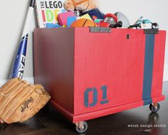 Storage Cube Gets New Life as an Industrial Toy Box – Welsh Design Studio Industrial Toys, Amazing Transformations, Cube Storage, Host A Party, Toy Boxes, Welsh, Toy Chest, Lego, Studio