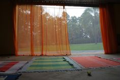 beautiful yoga space! I will have something like it one day...
