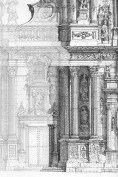 DIBUJANDO ARQUITECTURAS: Isi. La Catedral de Murcia