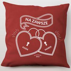 Poduszka personalizowana NA ZAWSZE