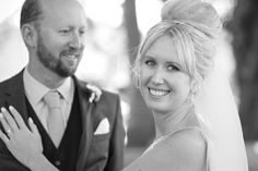 That loving look from the groom, perfect! Captured by Adam Popovic Photographer. Auckland wedding photographer.