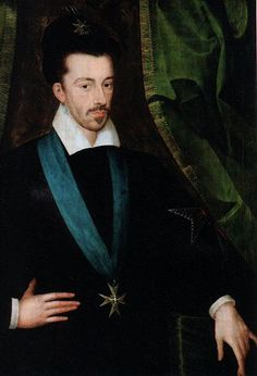 Henri III of France (1551-1589). Henri's father was Henri II of France and his mother was Catherine de Medici. Henri's authority was undermined by factions funded by foreign powers. The Catholic League was supported by Spain, and the Protestant Huguenots were supported by England's Elizabeth I through Francis Walsingham's spy network.  Henri III argued that a religiously tolerant monarchy would save France from collapse. He was murdered by a Catholic fanatic in 1589.