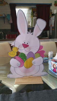 Easter Bunny Centerpiece Easter Bunny Centerpiece, Event Decor, Centerpieces, Home Appliances, Events, House Appliances, Center Pieces, Appliances, Table Centerpieces