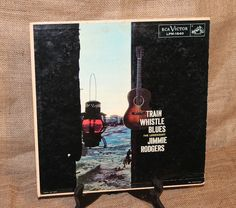 Jimmie Rodgers Train Whistle Blues RCA Victor LPM-1640 Country Music Item C10