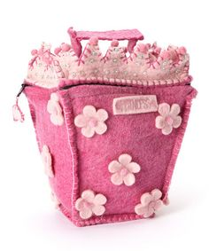 Take a look at this Felted Princess House Bag by Én Gry & Sif on #zulily today! $55 !!