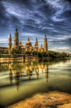 El Pilar cathedral, Zaragoza, Aragon - Spain