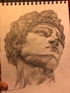 Michelangelo, The Past, Sketches, Statue, Portrait, Drawings, Headshot Photography, Portrait Paintings, Doodles