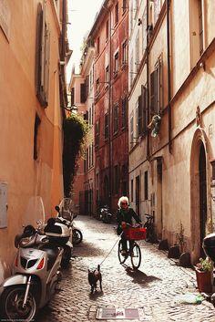 November in Rome, Italy