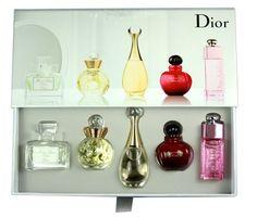 Christian Dior Les Parfums Miniature Collection 5 Piece Set