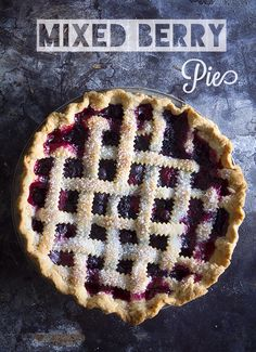 Tri-Berry Pie and The Better Homes and Gardens New Cook Book Giveaway