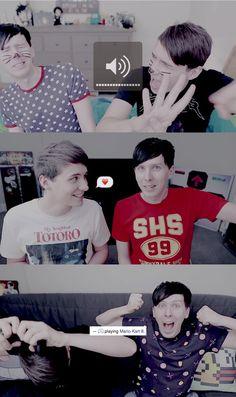 Dan and Phil. YEAH LADDERS AAAHHH