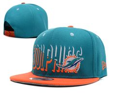 NFL Miami Dolphins Snapback.New Era Hats Blue 064 9479|only US$8.90
