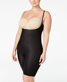 155811ff63 Spanx Plus Size Firm Control Two-Timing Reversible Open-Bust Bodysuit  10048P Plus Size
